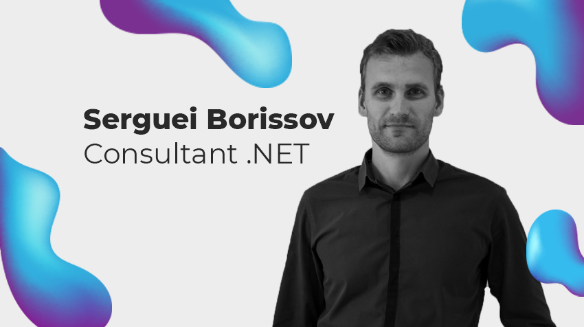 Interview New Comer - Serguei Borissov, consultant .NET