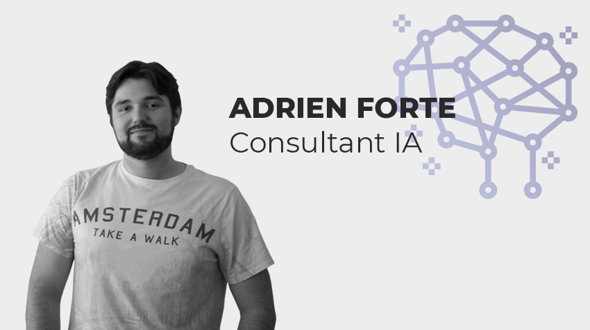 Interview new comer - Adrien Forte, consultant IA