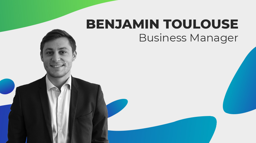 Portrait de Cellenzan - Benjamin Toulouse, Business Manager chez Cellenza