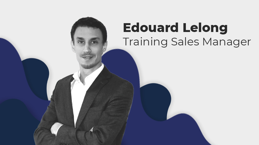 Interview - Edouard Lelong, Training Sales Manager