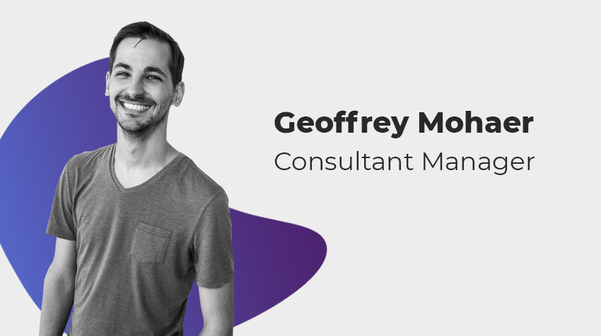 Interview Old Comer - Geoffrey Mohaer, Consultant Manager