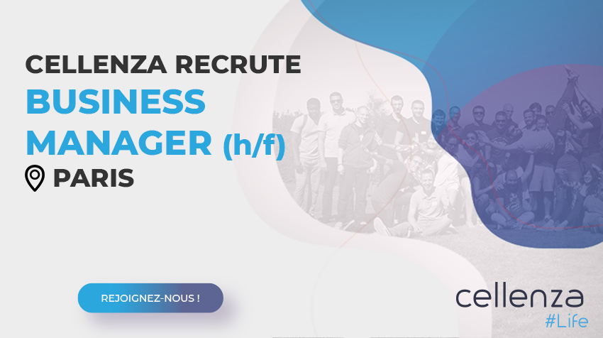 offre d'emploi Business Manager (h/f)