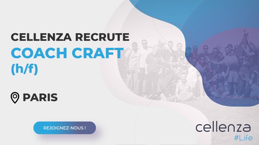 offre d'emploi Coach craft (H/F)