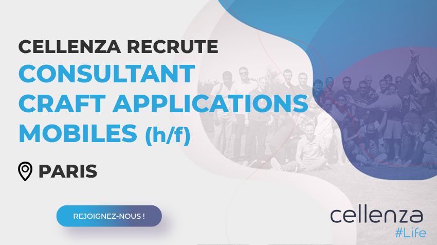 offre d'emploi Consultant craft applications mobiles (H/F)