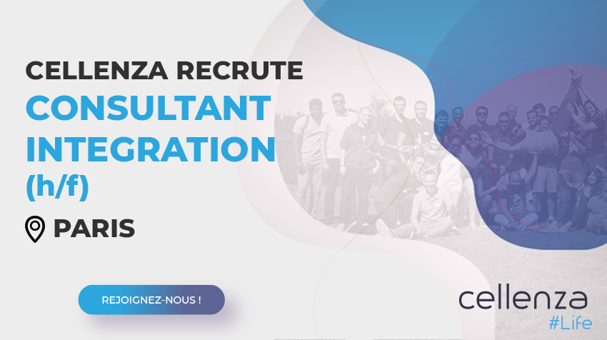 offre d'emploi Consultant Intégration (H/F)